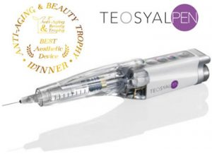 Teosyal pen for Dermal Fillers treatment.